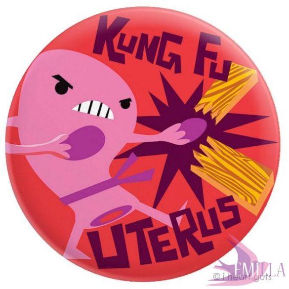 Kung-Fu Uterus - Magnet
