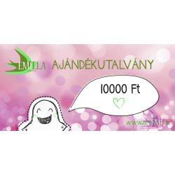 Ajándékutalvány 10.000Ft - Kedvezményes akció!