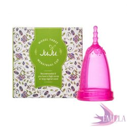 Juju Cup model 3 PINK - elongated size (for high cervix)