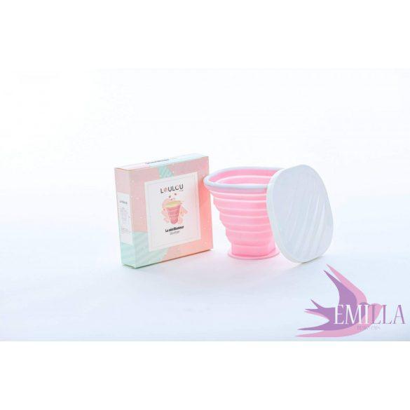 A Sterilizátor a Loulou Cuptól PINK
