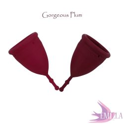 Mermaid Cup L Gorgeus Plum Solid, firm