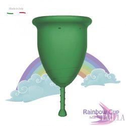 Rainbow Intimkehely nagy méret - Smaragd (középkemény)