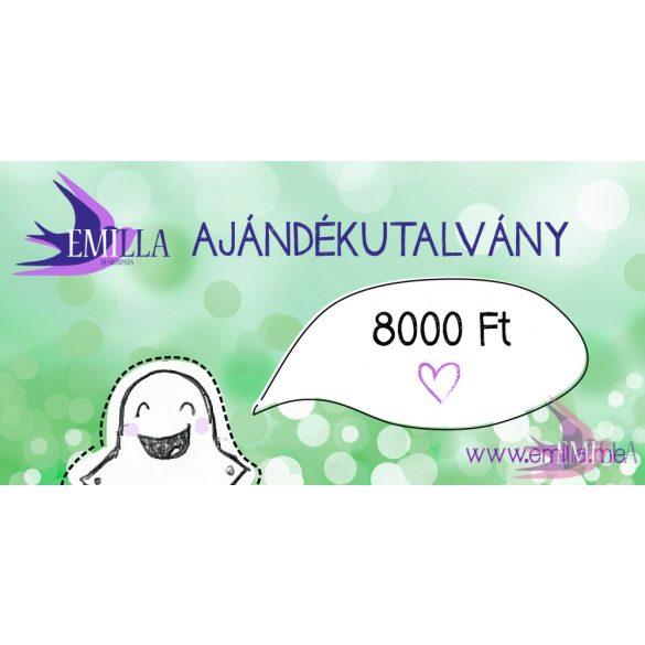 Ajándékutalvány 8000Ft