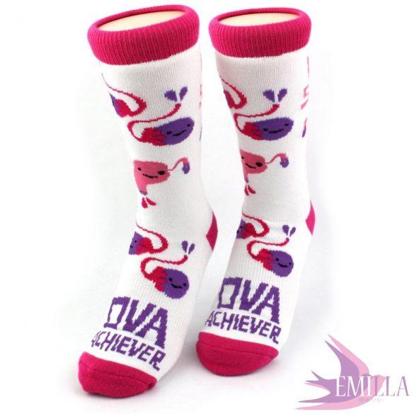 Ovary and uterus bamboo socks - Womb Service!