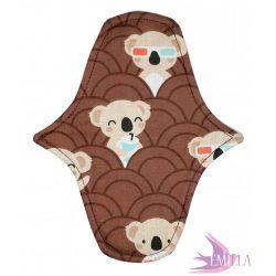 Afrodité Wide small pad (S) for light flow - Koala Pop