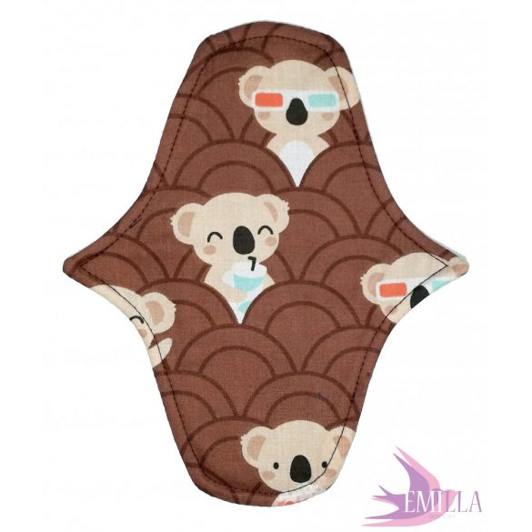 Afrodité Wide small pad (S) for light flow - Koala Pop