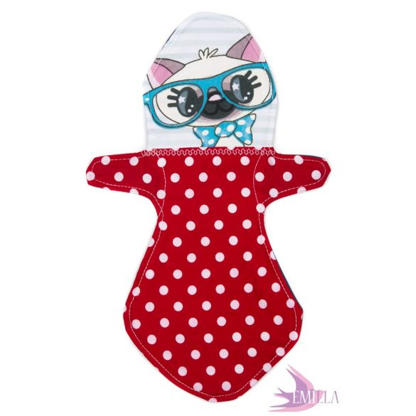 Kitty - Emilla Baba cloth pads for heavy flow