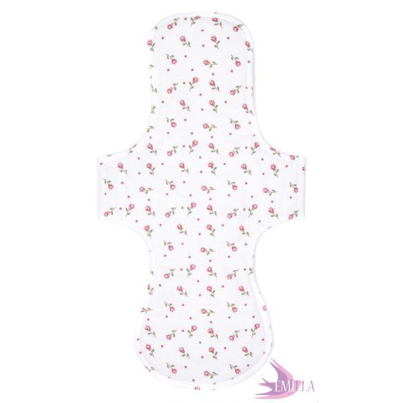 Gaia postpartum (XXL) clothpad - Flower Rain