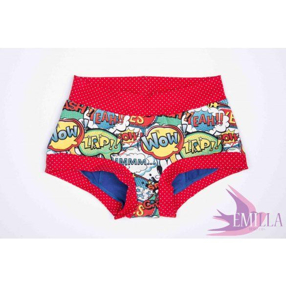 Wonder Woman menstruációs bugyi XXL