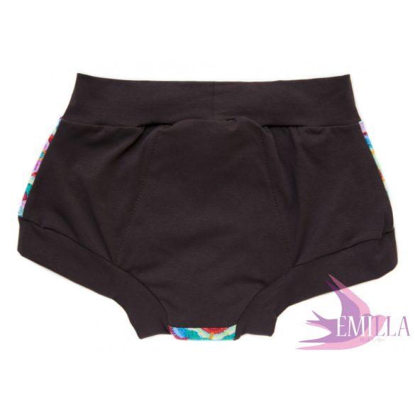 Brown Granny Panties menstruációs bugyi XL