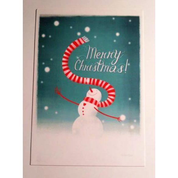 3db Snowman - Adaland üdvözlőkártya