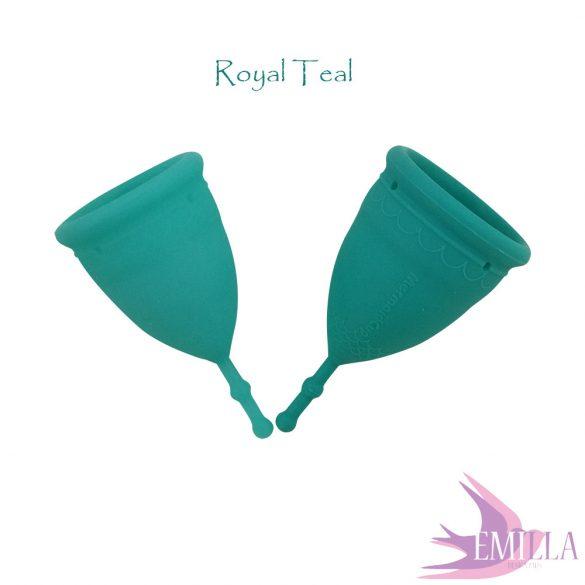 Mermaid Cup L Royal Teal Solid, firm
