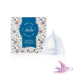 Juju Cup model 4 - shortened size (for low cervix) - Transparent