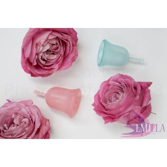 Loulou Cup Pink Kisméret (sport) - ajándék Emilla tisztaságibetéttel