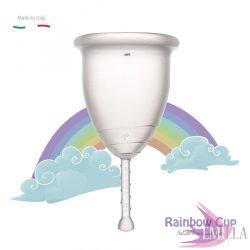 Rainbow Intimkehely kisméret - Átlátszó (puha)