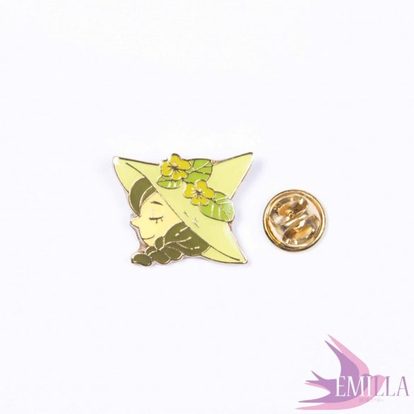 Green Soul - enamel pin