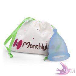 MonthlyCup Blue Sapphire - Mini méret
