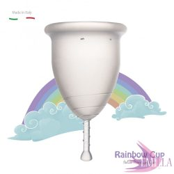 Rainbow Cup large size - Transparent (medium firmness)