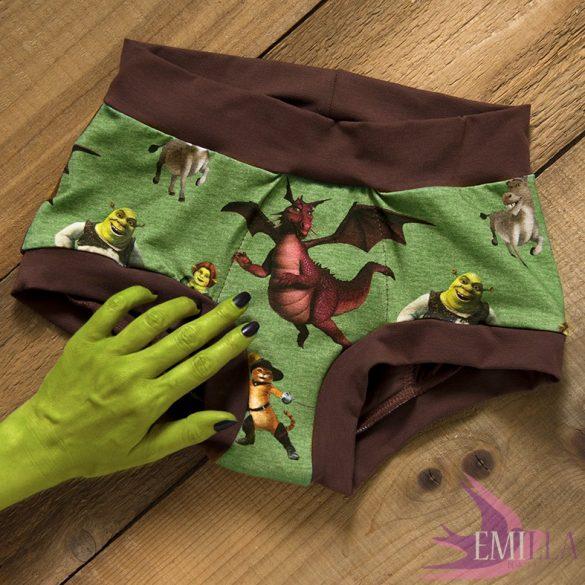 Shrek&Fiona menstruációs bugyi XXL - Erős vérzéshez