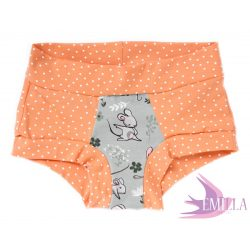Peach-Grey Mouse limited Scrundies xs