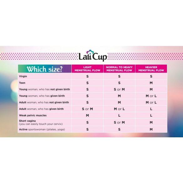 Lalicup - közepes méret (M) - kék