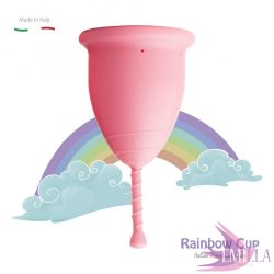 Rainbow Cup small size - Pink (Medium firmness)