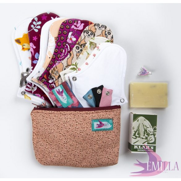 Eftehea - Cloth pad kits for adults in size S-M