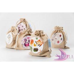 100% cotton Emilla face wipe kit
