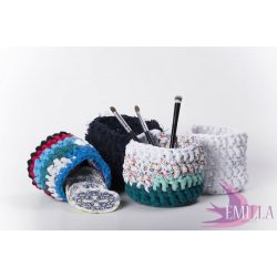 Emilla Zero Waste Nest - Hand crochet baskets