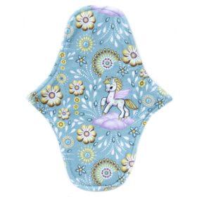 Pegasus in Blue - Cotton knit