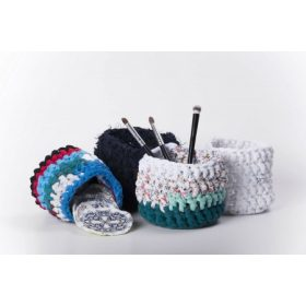 Emilla Zero Waste Nests - Hand crochet baskets