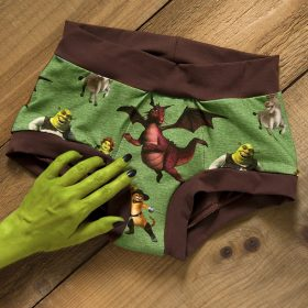 Period panties (scrundies style)