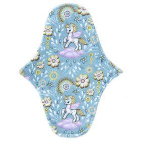 Pegasus in Blue - Pamutjersey